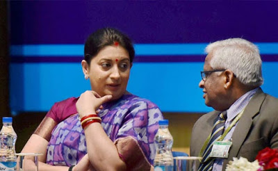 Vedic Maths discussed with HRD Minister Smriti Irani